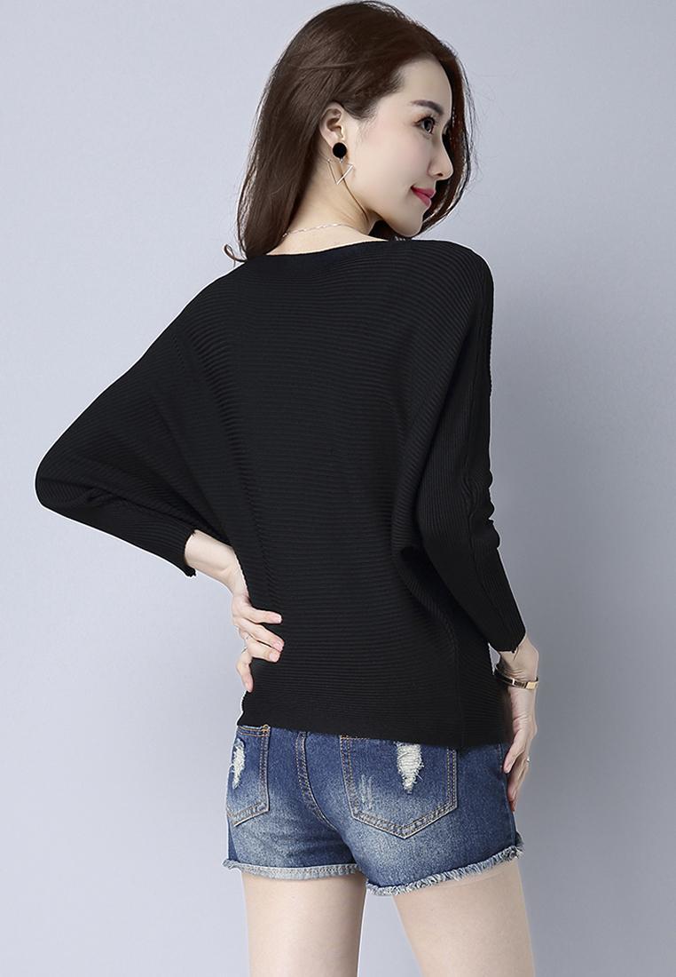 Áo len nữ cánh dơi thời trang Hàn Quốc 4
