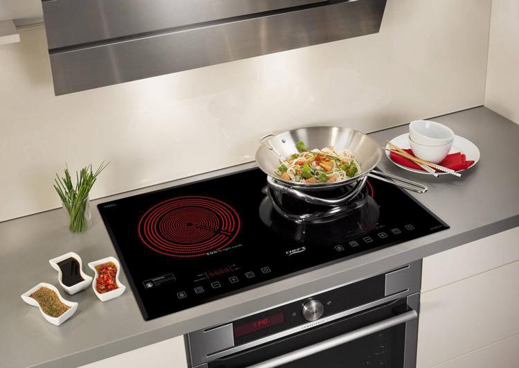 Bếp Âm Hồng Ngoại Đôi Chef's EH-DHL321 (72cm - 3400W) - Hàng Chính Hãng