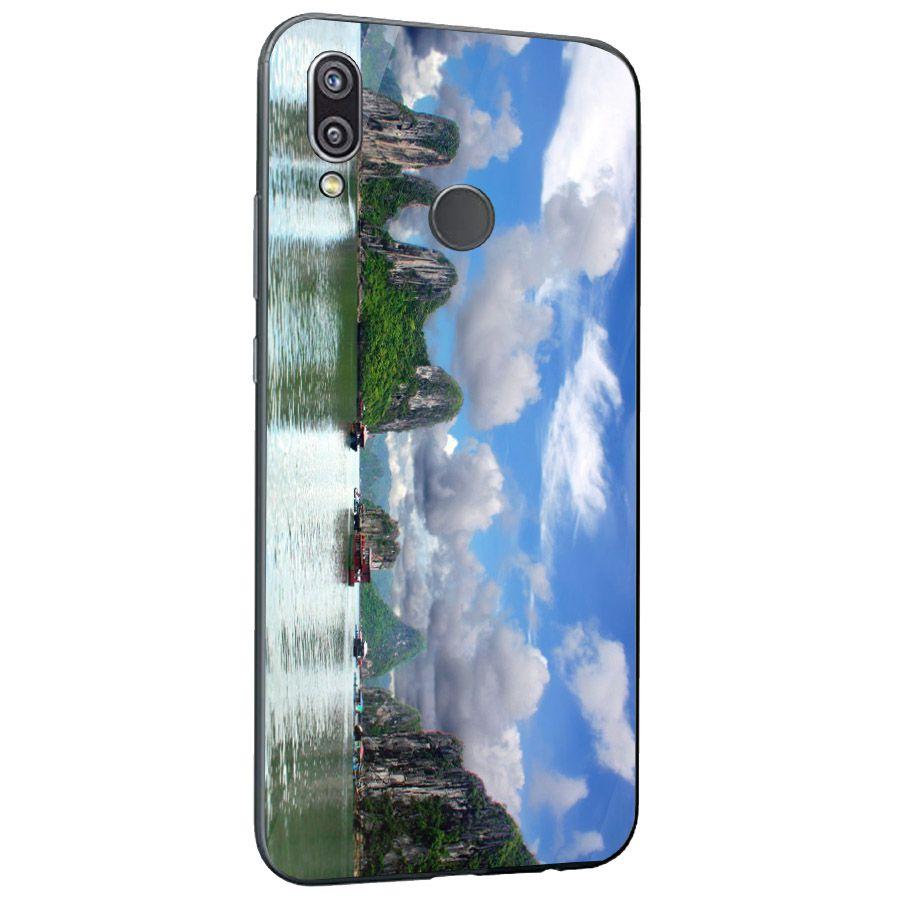 Ốp kính cường lực cho điện thoại Huawei NOVA 3E/P20 LITE - vịnh hạ long MS HALONG015