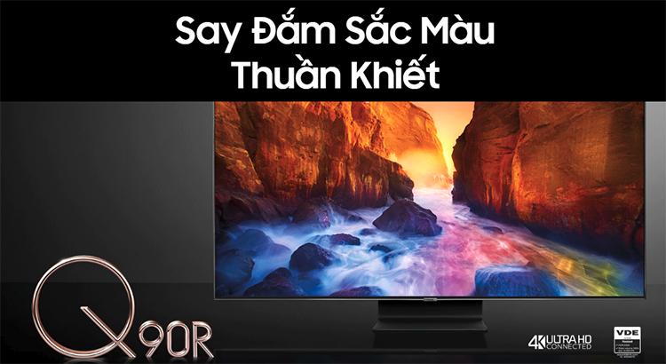 Smart Tivi QLED Samsung 75 inch 4K UHD QA75Q90RAKXXV