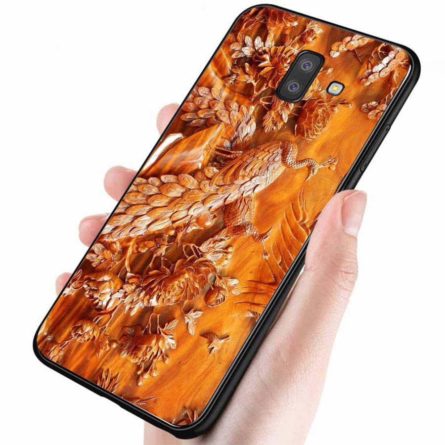 Ốp lưng điện thoại Samsung Galaxy J4 - hình Điêu Khắc MS DKHAC005