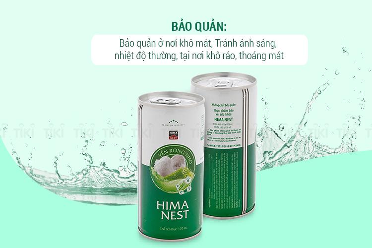 Yến Rong Nho Hima (6 Lon x 170ml)