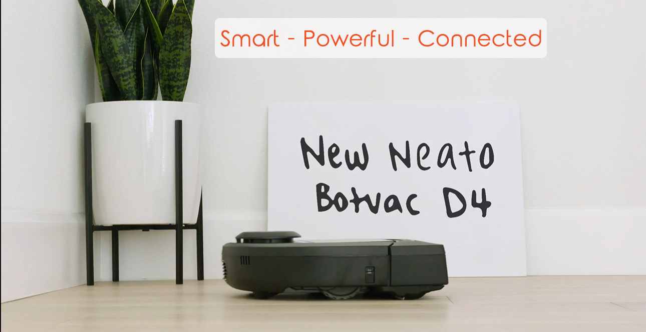 neato d4 connected