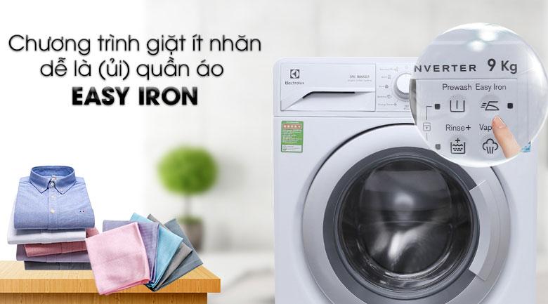 Máy Giặt Cửa Ngang Inverter Electrolux EWF12942 (9kg) - Trắng