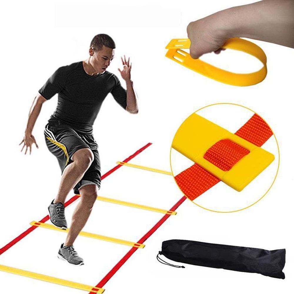 Thang dây thể thao luyện thể lực bóng đá RED Yellow, dây tập thể lực - DONGDONG 1