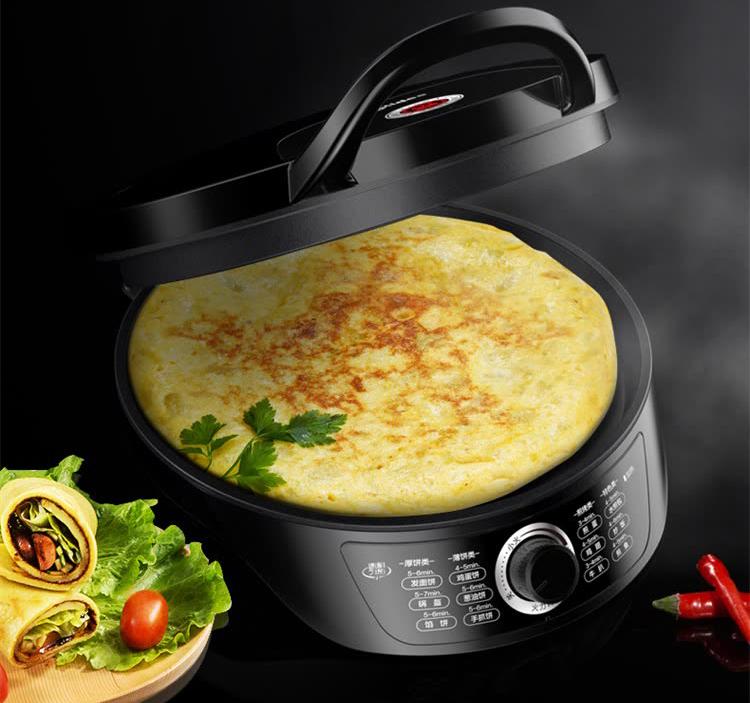 Midea (Midea) electric baking pan home breakfast machine crispy pancake machine firepower adjustable frying pan multi-purpose pot JK30Easy201