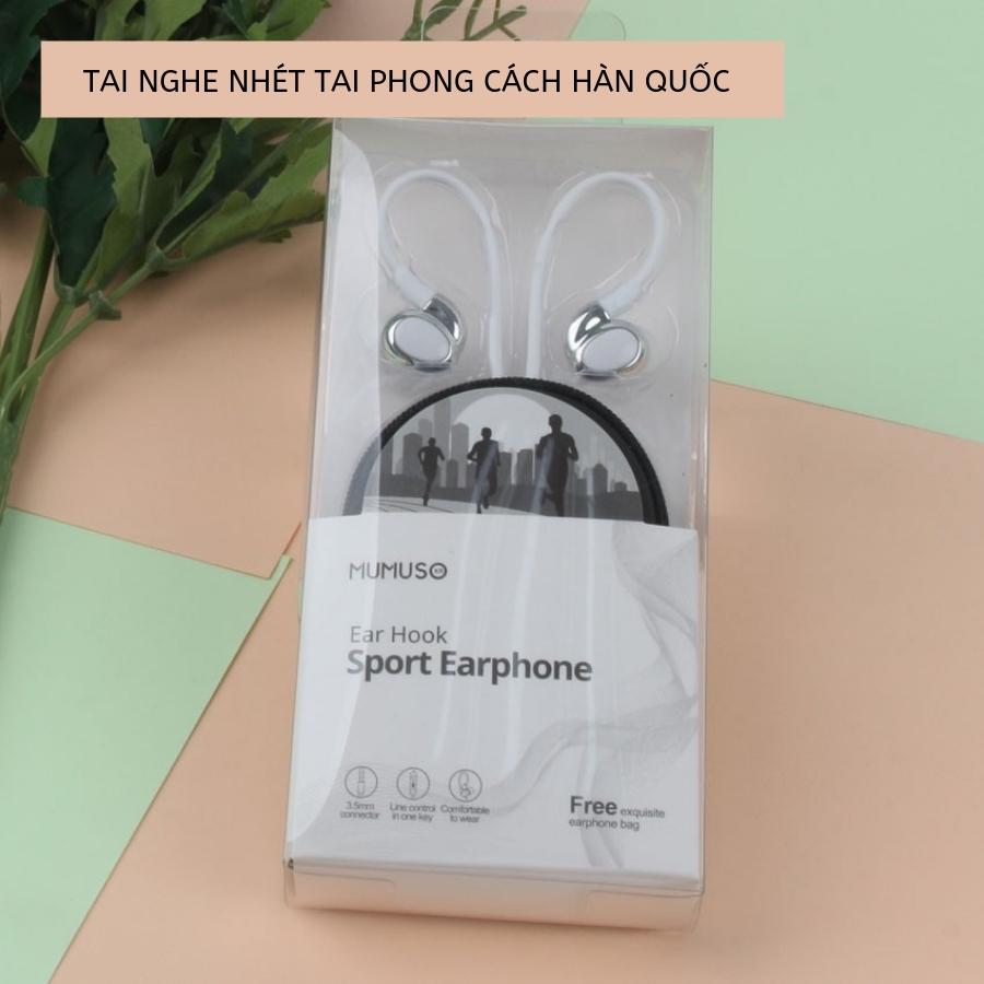 Tai Nghe Nhét Tai + Cáp Sạc iPhone + Adapter Sạc Cổng USB Chính Hãng Phong Cách Hàn Quốc KIFA-1410