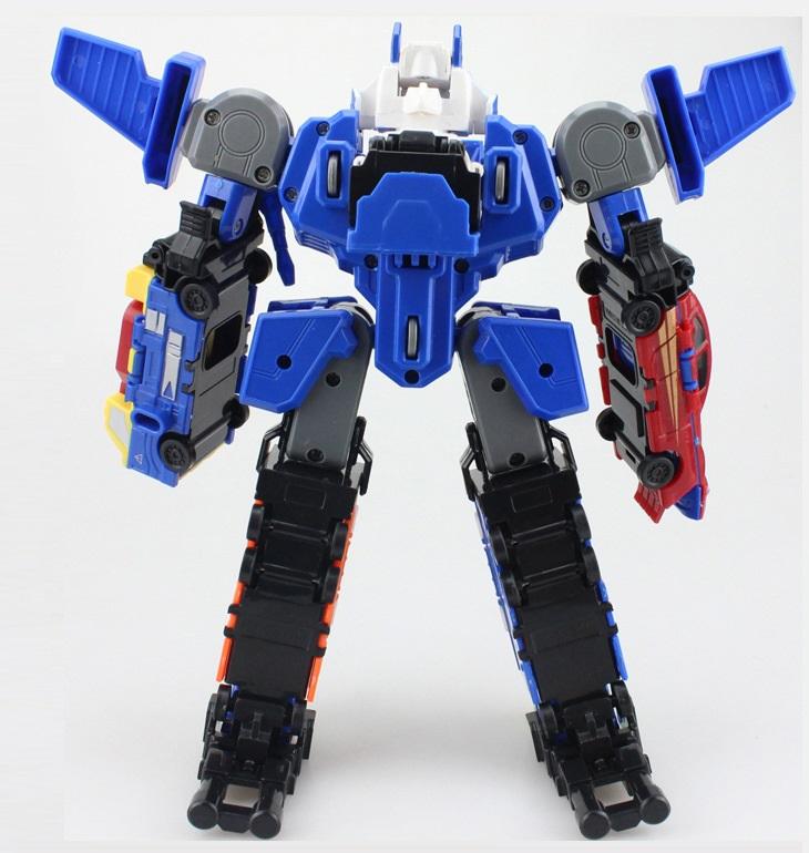 Bộ đồ chơi Robot lắp ghép biến hình cho bé yêu 1