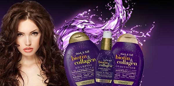 Dầu gội Ogx Biotin & Collagen Shampoo tự nhiên an toàn cho sức khỏe