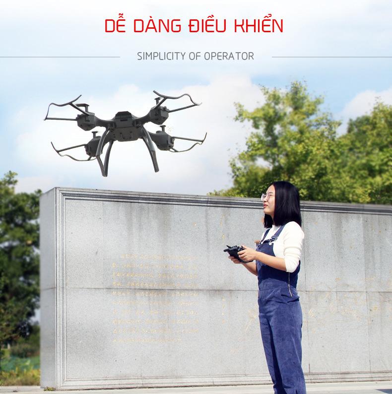 Flycam điều khiển từ xa Aerocraft W880-32 full HD 1080p Drone quay phim chụp ảnh gua dụng ALOMA