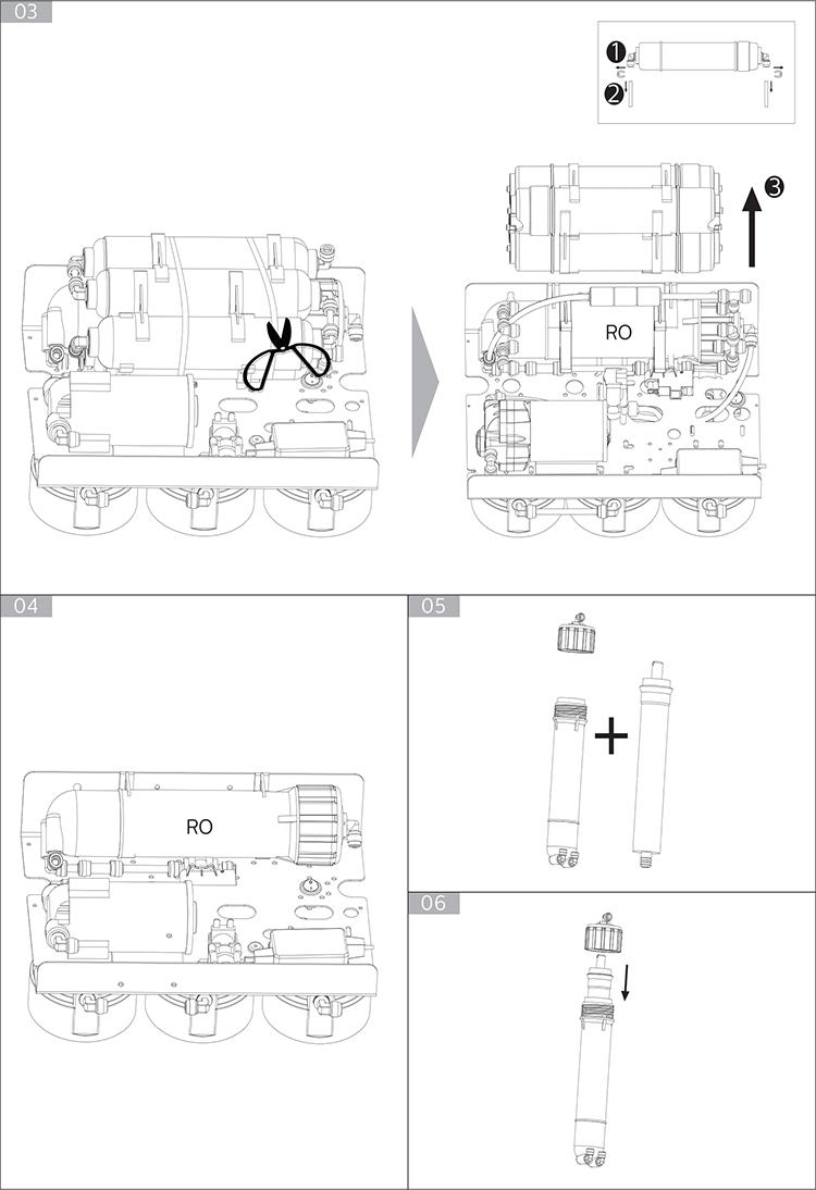 Máy Lọc Nước RO Philips ADD8960 - Hàng Chính Hãng