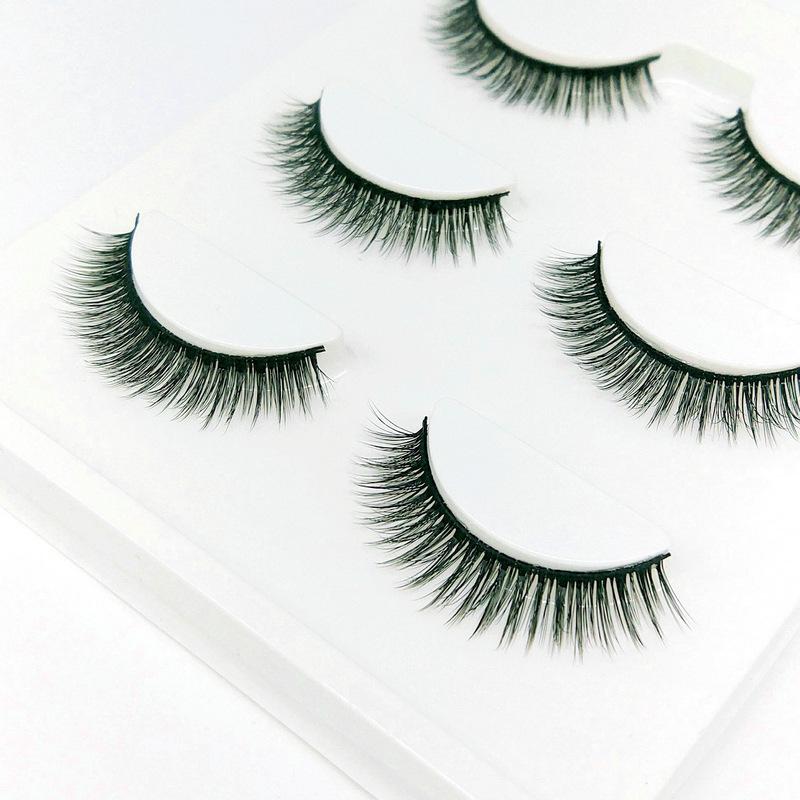 Lông mi giả lông chồn 3 Fashion Eyelashes 3 Faux-Cils 3D 1 bộ 3 cặp 35