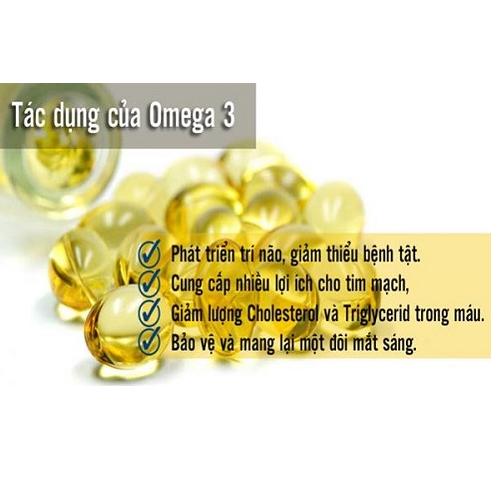 công dụng của omega 3