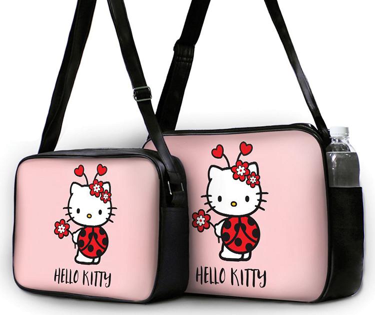 Túi Đeo Chéo Hộp Unisex Kitty Bọ Cánh Cam - TCCT039