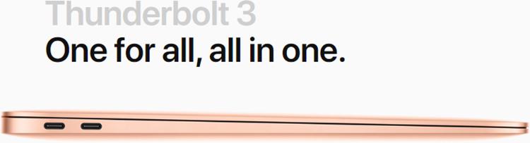 Apple Macbook Air 2020 - 13 Inchs (i3-10th/ 8GB/ 256GB) - Hàng Chính Hãng