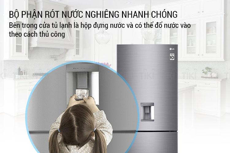 Tủ Lạnh Inverter LG GR-D400S (393L) - Hàng chính hãng