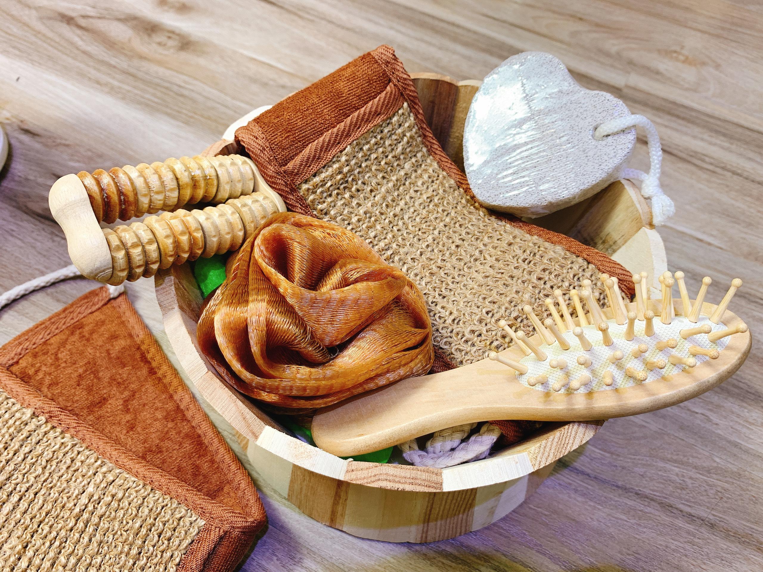 Lược massage bằng gỗ cho nữ 4