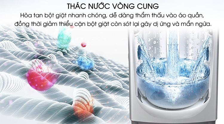 Máy Giặt Cửa Trên Inverter LG T2108VSPM (8kg) - Hàng Chính Hãng