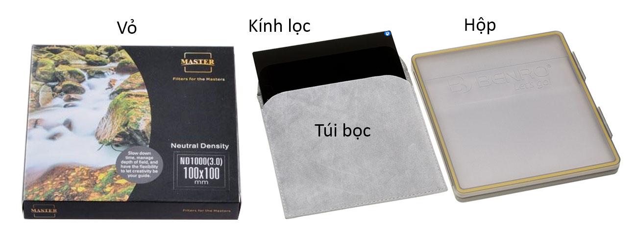 Filter Kính lọc vuông Benro Hệ 100, Hàng chính hãng 16
