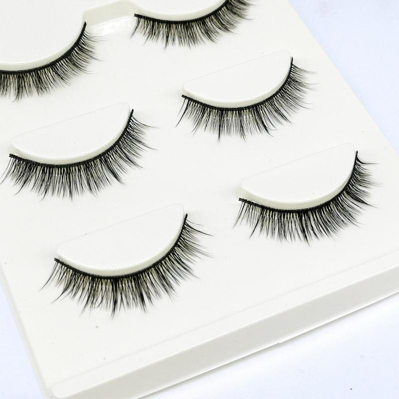 Lông mi giả lông chồn 3 Fashion Eyelashes 3 Faux-Cils 3D 1 bộ 3 cặp 25