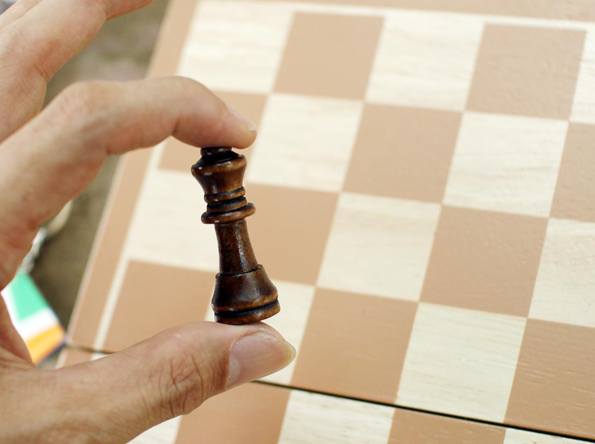 Đồ chơi giáo dục cho bé giúp trẻ em thông minh bằng gỗ tự nhiên, cờ vua cho bé giúp phát triển trí tuệ từ nhỏ. 6