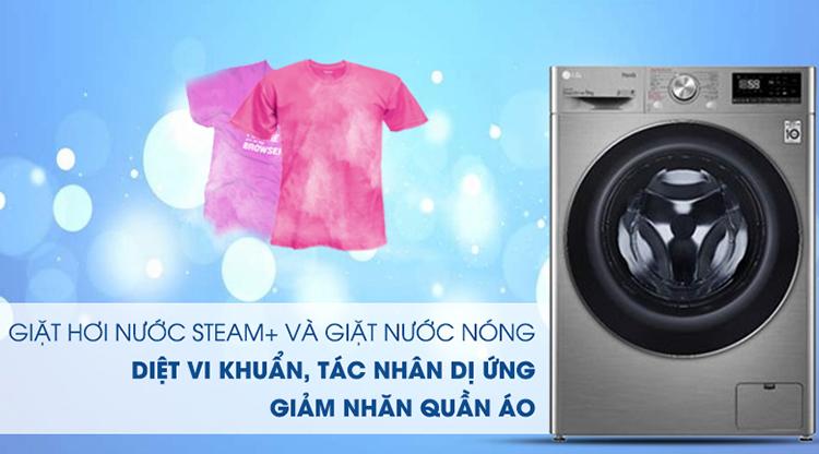 Máy giặt LG Inverter 9 kg FV1409S2V - Chỉ giao HCM