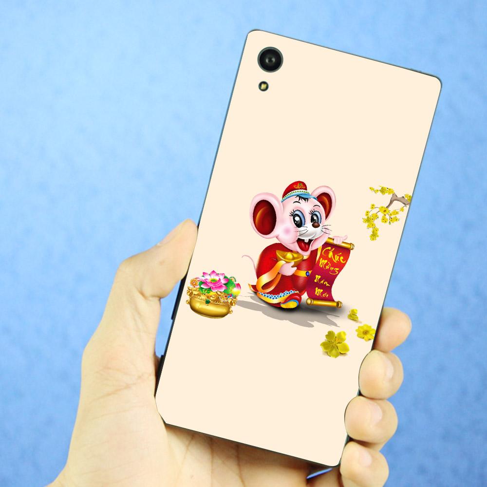 Ốp điện thoại Sony Xperia L1 - Chuột thần tài 11 MS CTT11