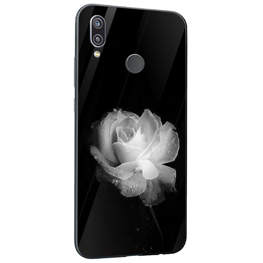 Ốp kính cường lực cho điện thoại Huawei NOVA 3E/P20 LITE - Đủ nắng thì hoa nở MS DNTHN013