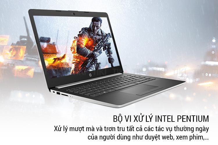 Laptop HP 14-ck0092TU 4TA06PA Pentium Silver N5000/Win10 (14