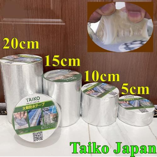 Băng keo chống dột TAKIO JAPAN cho mái tôn, chống thấm tường, bê tông, Sắt , nhựa... bám dính tốt trên mọi bề mặt 1
