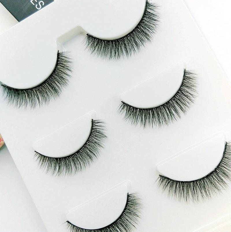 Lông mi giả lông chồn 3 Fashion Eyelashes 3 Faux-Cils 3D 1 bộ 3 cặp 79