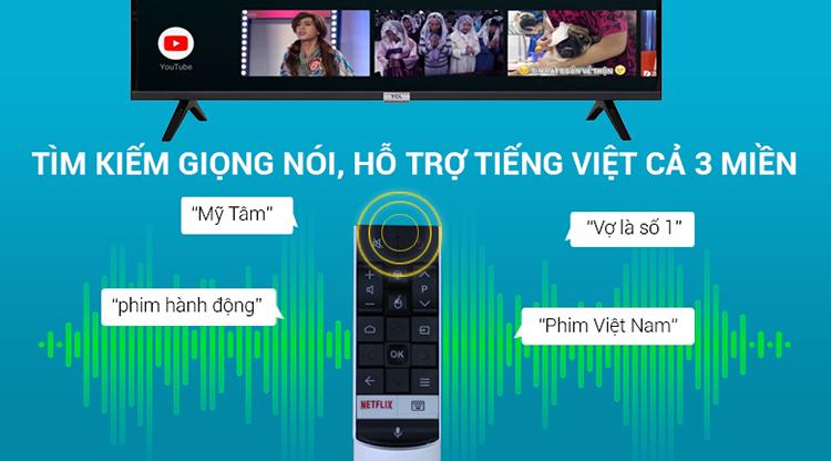 Smart Tivi TCL 43 inch Full HD L43S6500