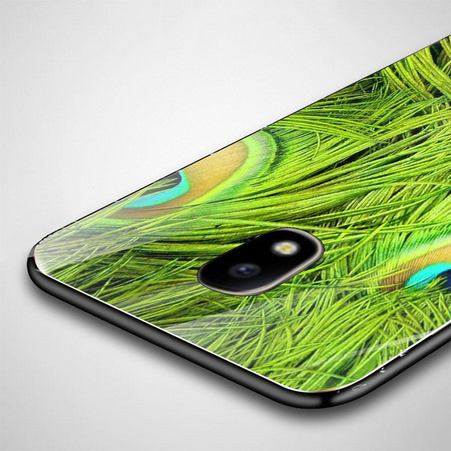 Ốp kính cường lực cho điện thoại Samsung Galaxy J5 - chim công phượng MS CPHUONG048