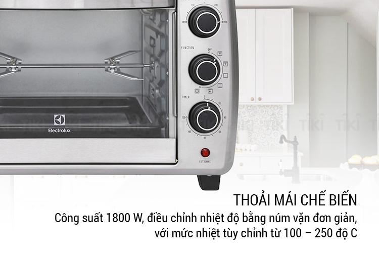 Lò Nướng Electrolux EOT30MXC (30L) - Hàng chính hãng