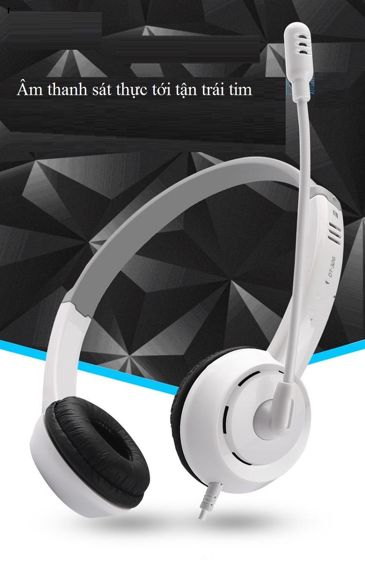 Tai nghe có dây DT326 - Đẳng cấp game thủ , streamer 5