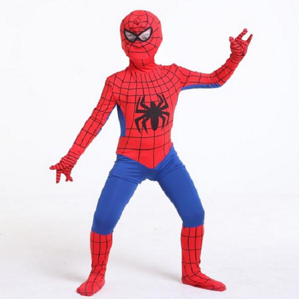 áo liền quần siêu nhân người nhện