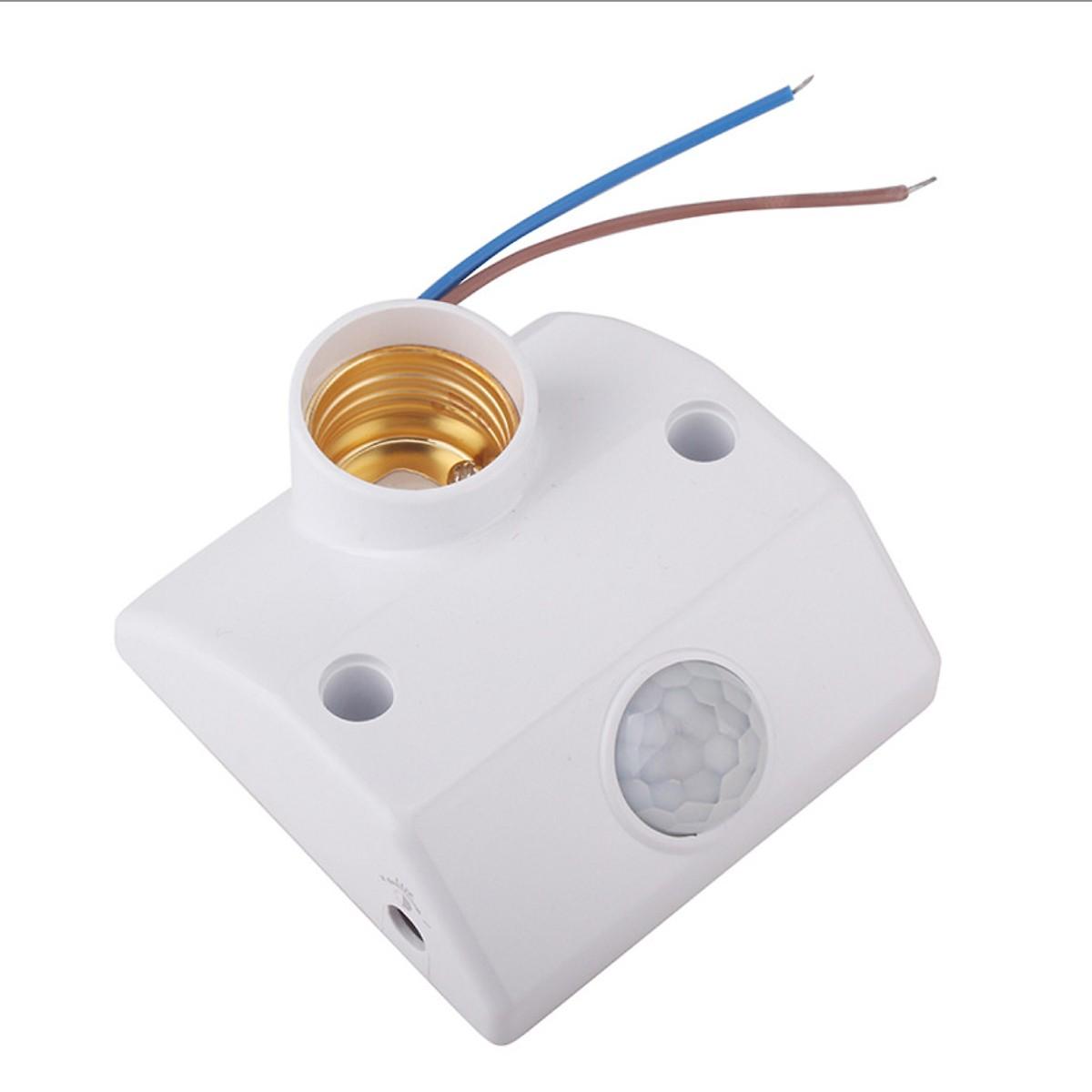 Điều chỉnh cảm biến ánh sáng và điều chỉnh thời gian đui đèn cảm ứng