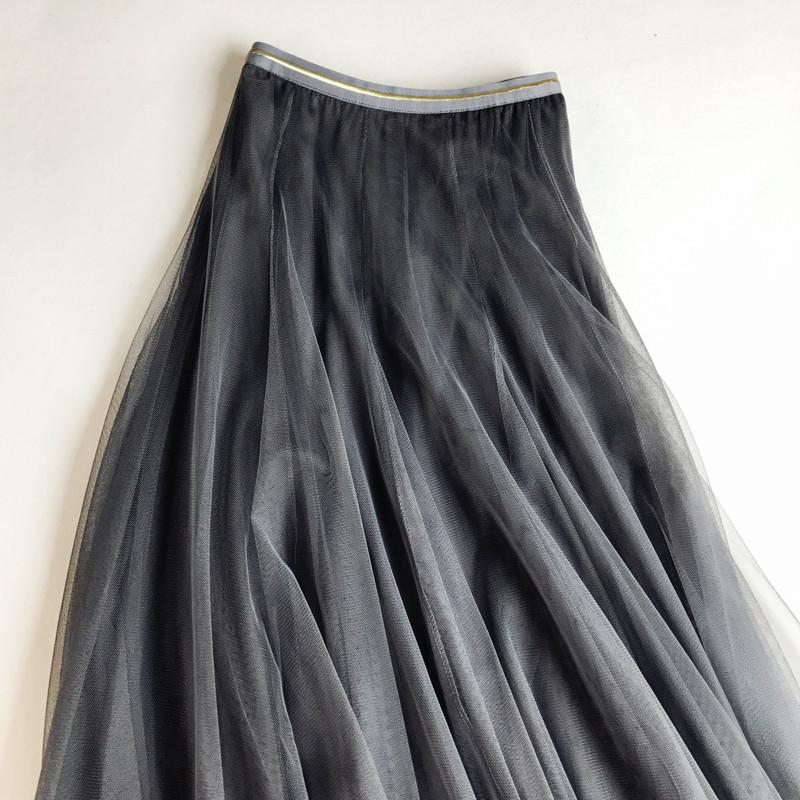Chân váy lưới tutu xòe nhiều tầng VAY49 free size 1