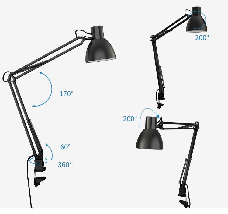Đèn Bàn LED Bảo Vệ Mắt American TG801-S-BK