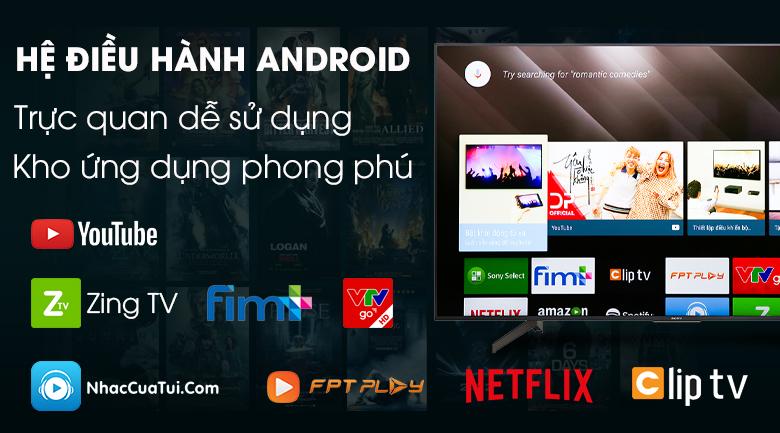 Android Tivi Sony 4K 65 inch KD-65X8500G - Hàng chính hãng