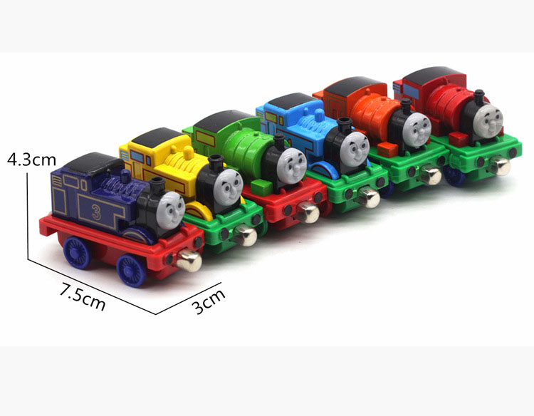 Bộ 6 đồ chơi hợp kim phim hoạt hình 2