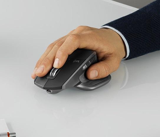 Chuột Bluetooth Không Dây Logitech MX Master 3 2.4G Cho Tay Phải, Có 2 Chế Độ