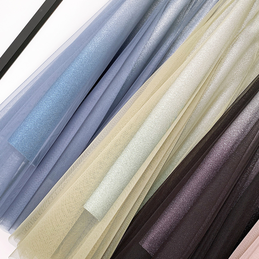 Váy xòe lưới tutu loang mầu lấp lánh VAY53 11