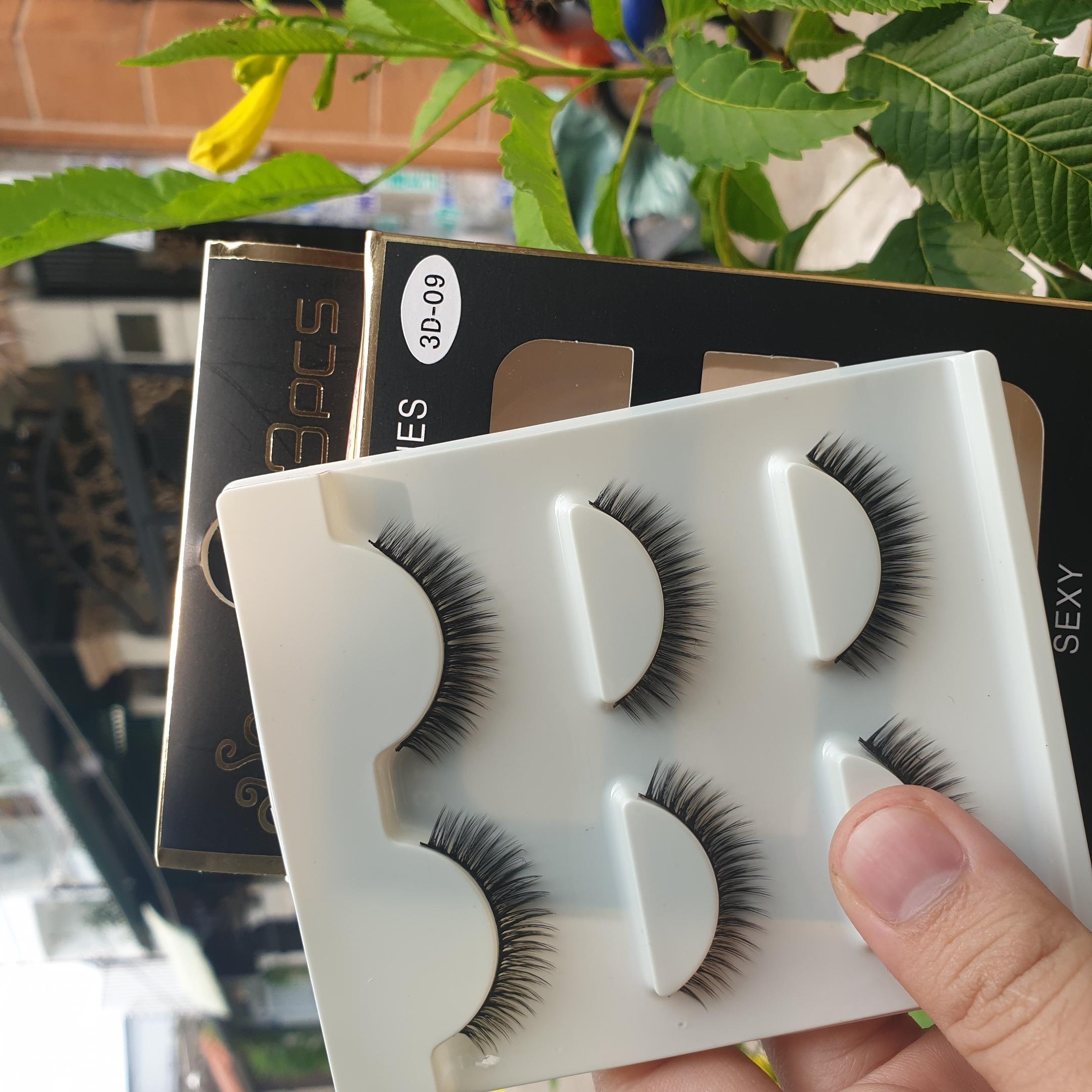 Lông mi giả lông chồn 3 Fashion Eyelashes 3 Faux-Cils 3D 1 bộ 3 cặp 36