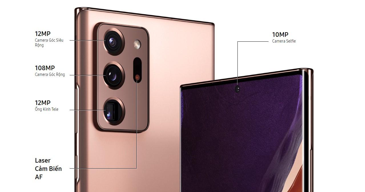 Điện Thoại Samsung Galaxy Note 20 Ultra (256GB/8GB) - Hàng Chính Hãng