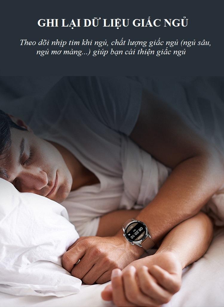 Đồng hồ theo dõi Sức khỏe cao cấp 1.3 -Theo dõi và nhắc nhở vận động 9