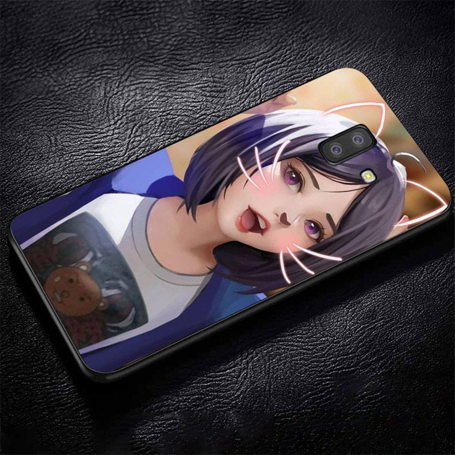 Ốp lưng điện thoại Samsung Galaxy J4 - cô gái cá tính MS CGCT011