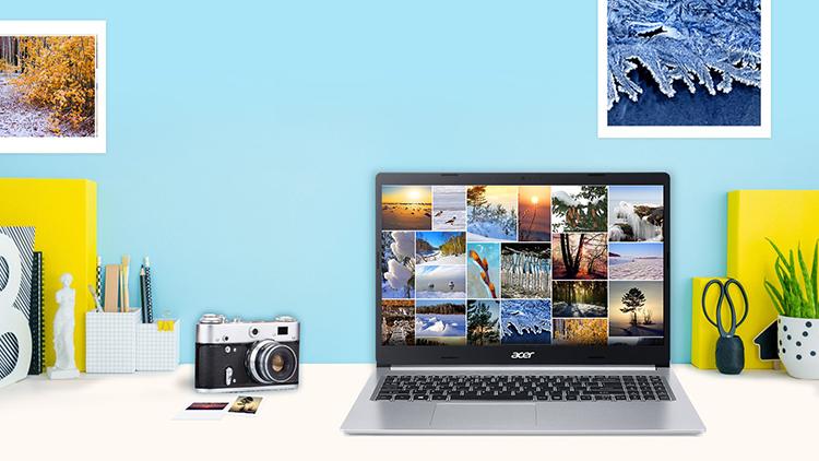 Laptop Acer Aspire A515-54-33AB NX.HMHSV.001 Core i3-10110U/ Win10 (14 FHD) - Hàng Chính Hãng