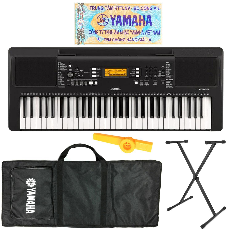 Bán Bộ đàn Organ Yamaha Psr E363 Keyboard Psr E363 Có Tem
