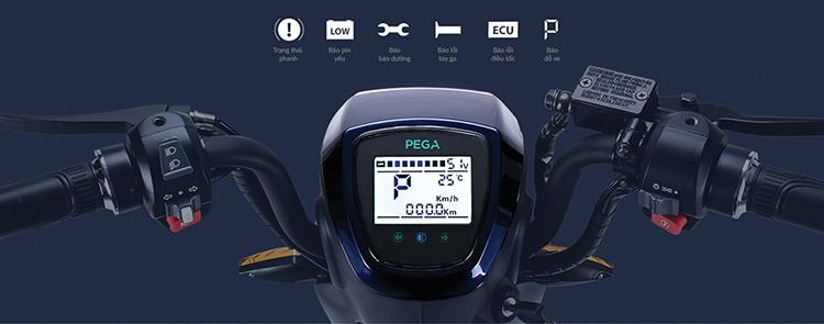 Xe đạp điện Pega Newtech - Tím